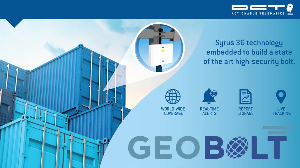 DCT & Geotech Present: Geobolt