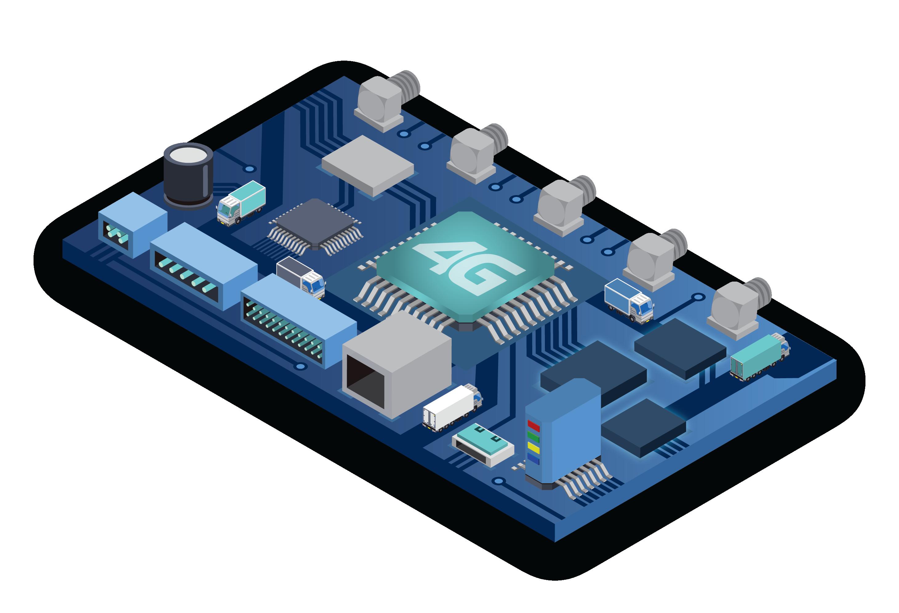 Syrus 4G PCB